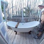 Clawfoot Tub - Premium Waterfront Suite