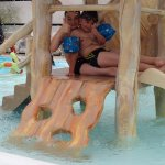 piscine couverte pataugeoire