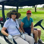 Kinda and Vicki at Torrey Pines North Course