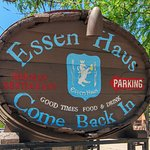Essen Haus is located at the intersection of E. Wilson St. and Blair St. Free parking!