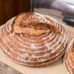 Fresh-baked wild year bread