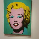 The iconic Marilyn from Pop Art legend Andy Warhol