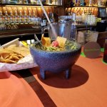 Great guacamole and sangria