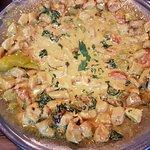 Wok Huhn mit Currysauce