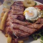 A juicy gammon! Compliments to the superb chef and kitchen staff