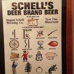German drinking game poster