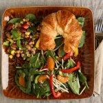 Sandwich et salade