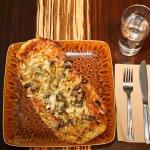 Pizzas (jambon ou végétarienne)