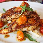 Chicken with Cherry Tomatoes