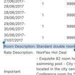 "My reservation said it's ""standard double room"". The hotel replied to my review and lied to all"