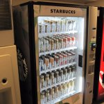 Good beverage selection in vending area (3rd floor).