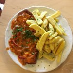 Hungarian pork steak