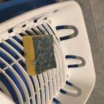 Generously used sponge