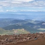 Gorgeous views from the the top of Pikes Peak