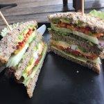Yummy salad Sandwich...... Recommend...