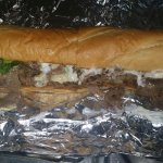 Our most popular steak and cheese sub