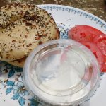 Bagel - tomatoes were $1 extra