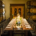 Our barrel room at the tasting room is perfect for rehearsal dinners and blending seminars!