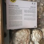 Hezekiahs tunnel - one tunnel dry ( Canaanite) other has water in it