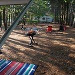 Campsite 57 looking to neighbors.