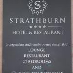 Strathburn Sign