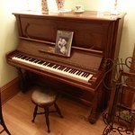 Enjoy playing our 1897 Steinway Upright Grand Piano located in the Parlor of our Main House
