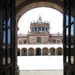 vista desde la segunda capilla