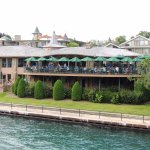 Stafford's Weathervane Restaurant, Charlevoix, MI (view from Bridge St.)