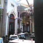 area principal de restaurante