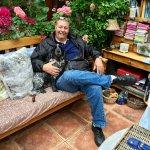 My husband and Helen & Bob's dog Bertie
