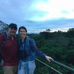 On top of the canopy tower at Refugio Amazonas.