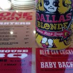 Dallas Blonde is served here.