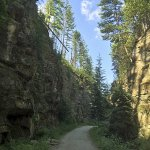 Myra Canyon Trail - in July