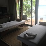 massages in our pool villa