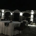 Experienced amazing outdoor dining experience