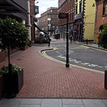 This is the view as you are exiting the Westbury going to Grafton Street June 2017