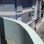 Habitación 207. Vistas desde el balcón