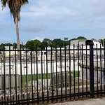 a view of the Key West Cemetery