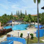 Great view of swimming pool from hotel