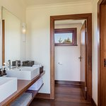 Three shared bathrooms connected to the Main Lodge