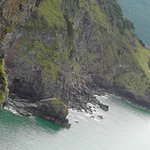 Cliffs along the superb coastal path just outside of Lynmouth and Lynton.