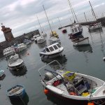 Lynmouth Harbour.