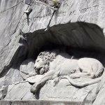 Escultura del león de Lucerna