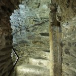 Stairs in Reginald's Tower.