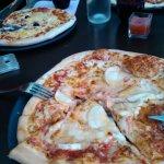 les pizzas en partage