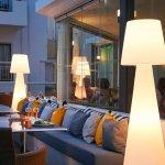 The King Jason Paphos - Terrace