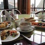 lunch at Shangri-La
