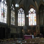 St Martin's church Kortrijk vista interna