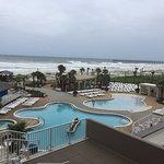 Pool area - Hilton Pensacola Beach