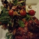 Beef lasagne & salad